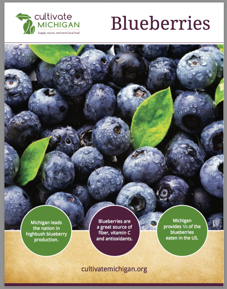 Cultivate Michigan Blueberry Guide